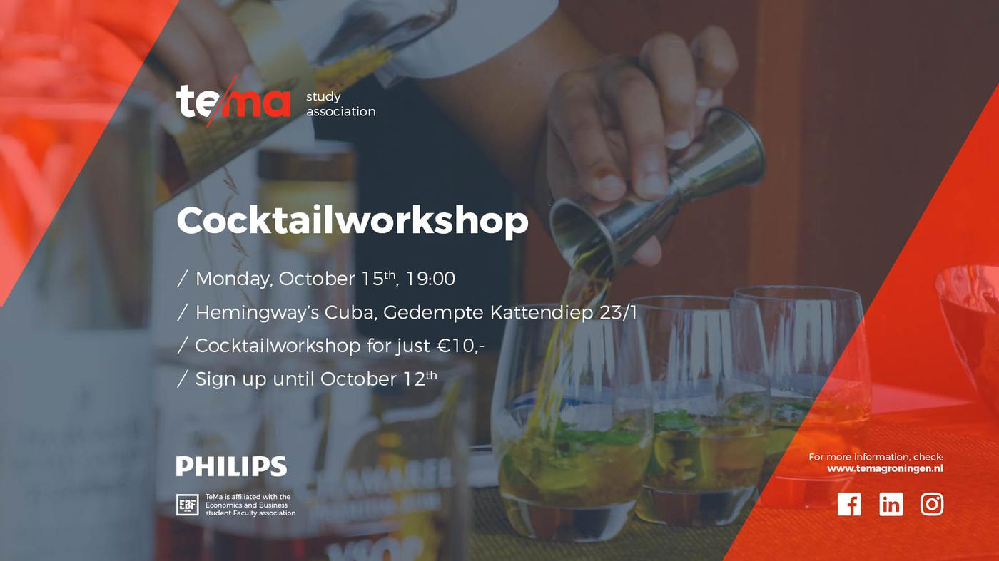 Introduction Activity | Cocktailworkshop
