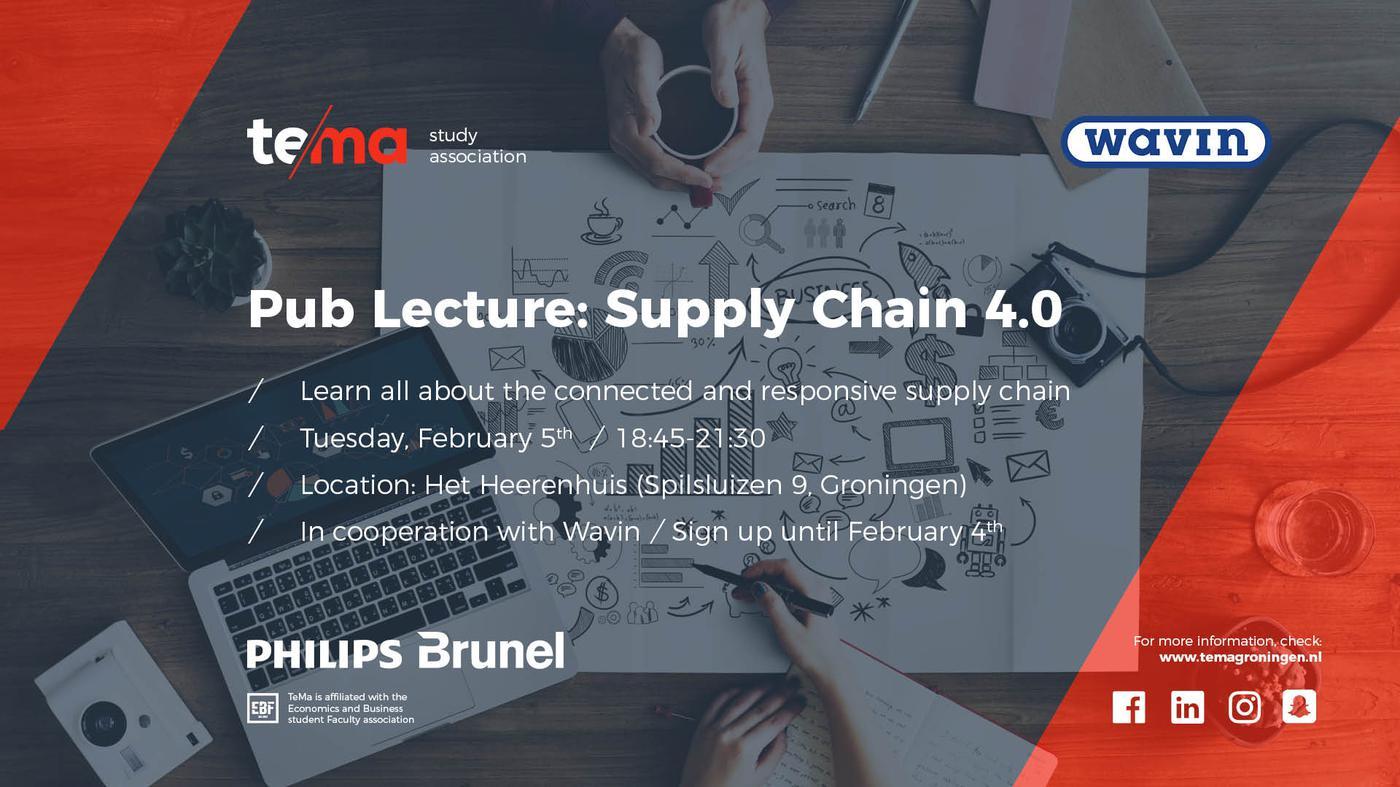 Pub Lecture: Supply Chain 4.0