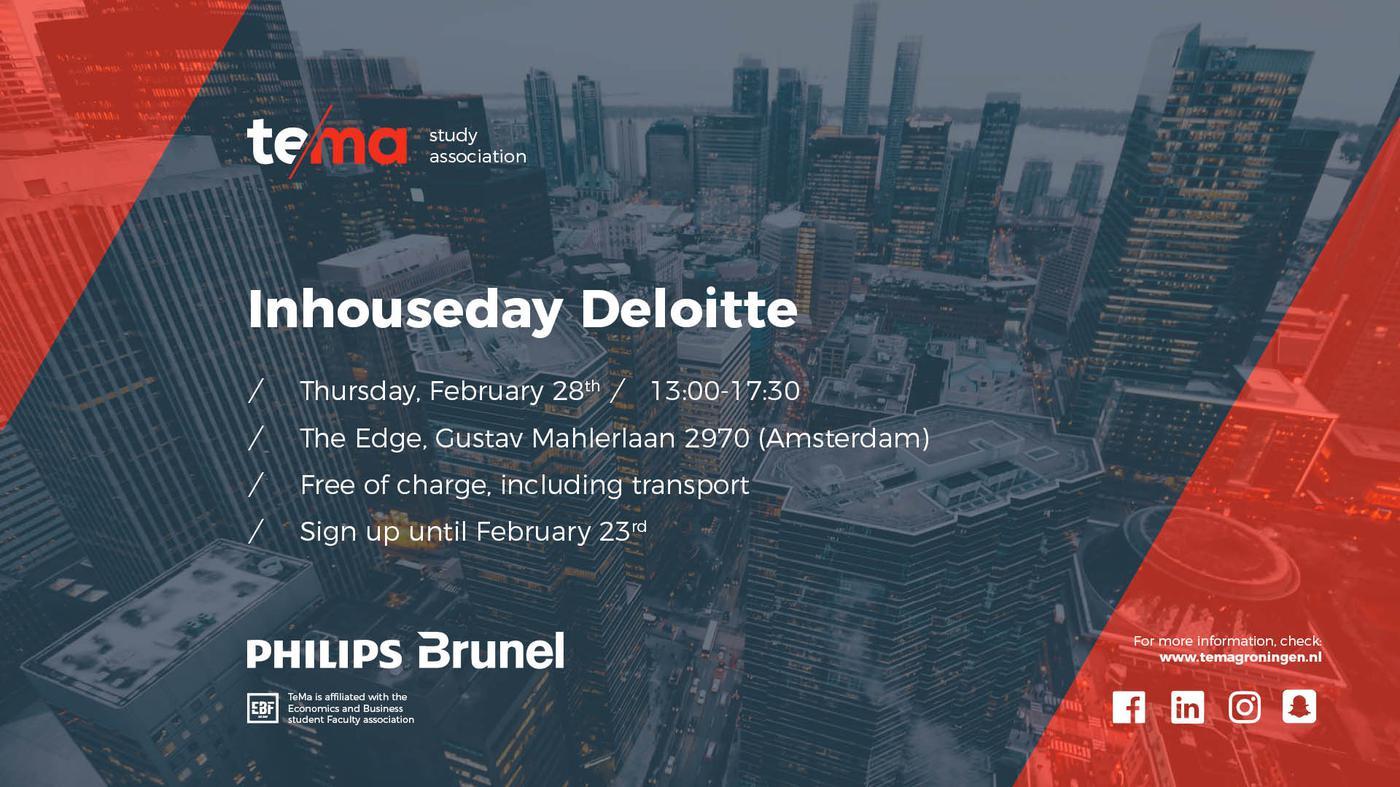 Inhouseday Deloitte