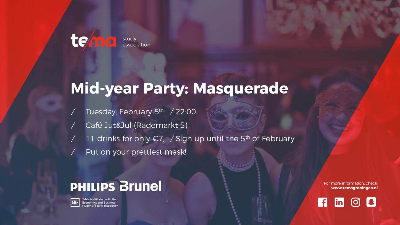 Mid-year Party: Masquerade