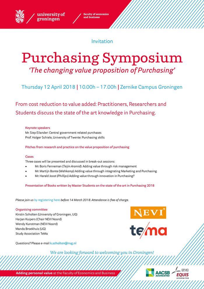 Purchasing Symposium