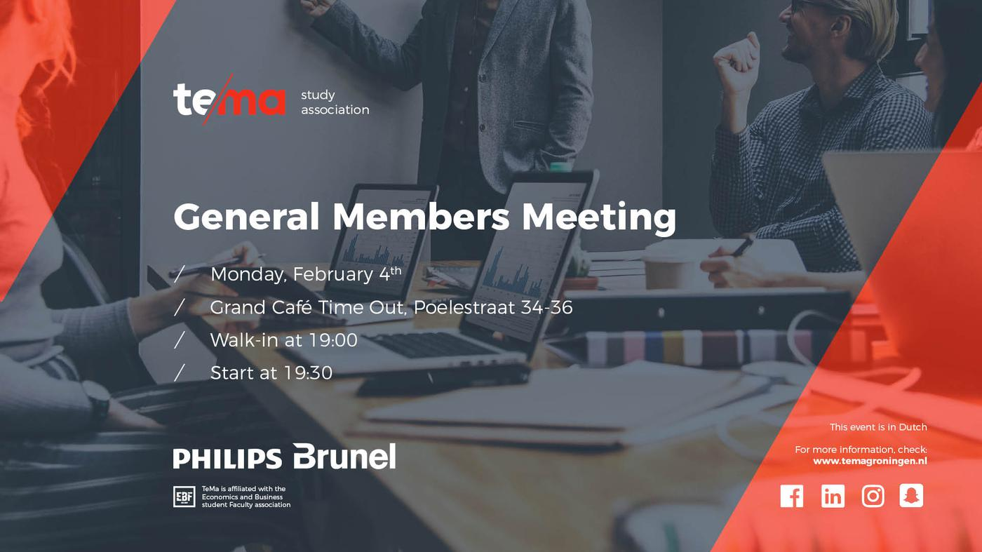 Halfjaarlijkse Algemene Ledenvergadering