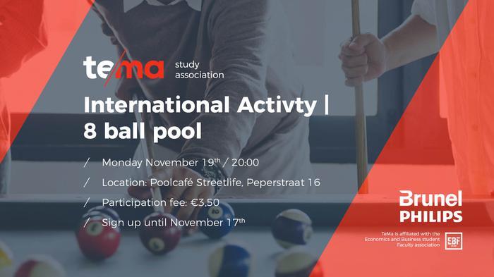 International Activity I 8 ball pool