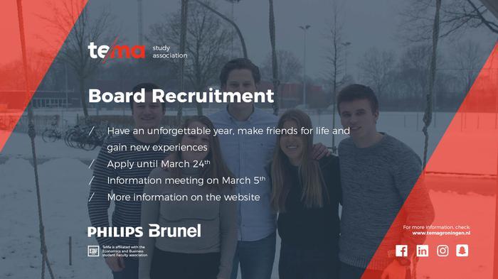 TeMa Board Recruitment